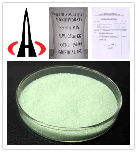 Ferrous sulphate monohydrate/heptahydrate